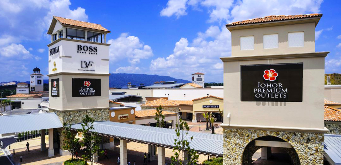 shop at Johor Premium outlet - supporting the local economy