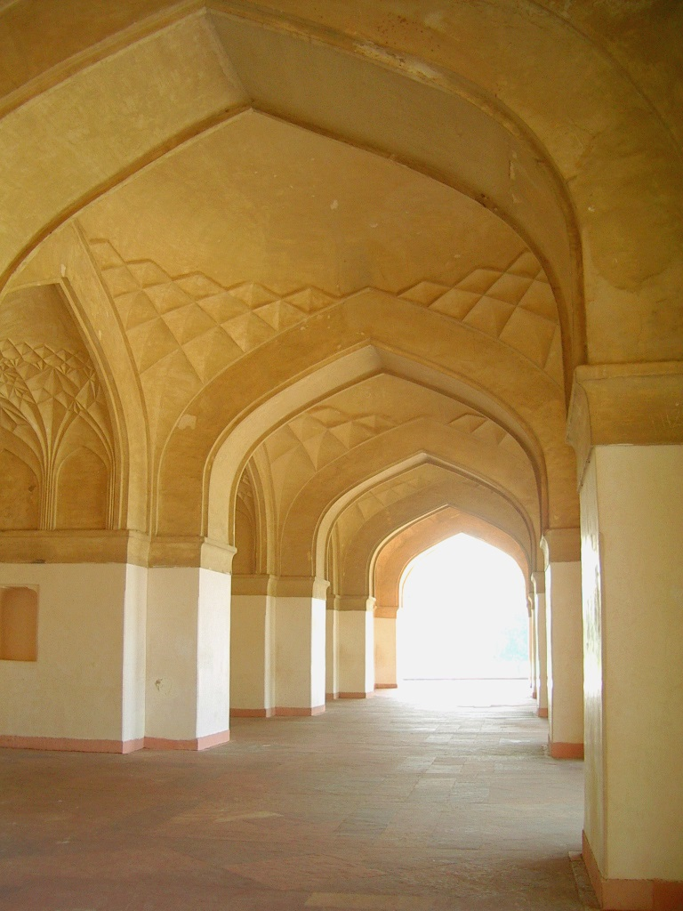 architecture in Akbar's Tomb