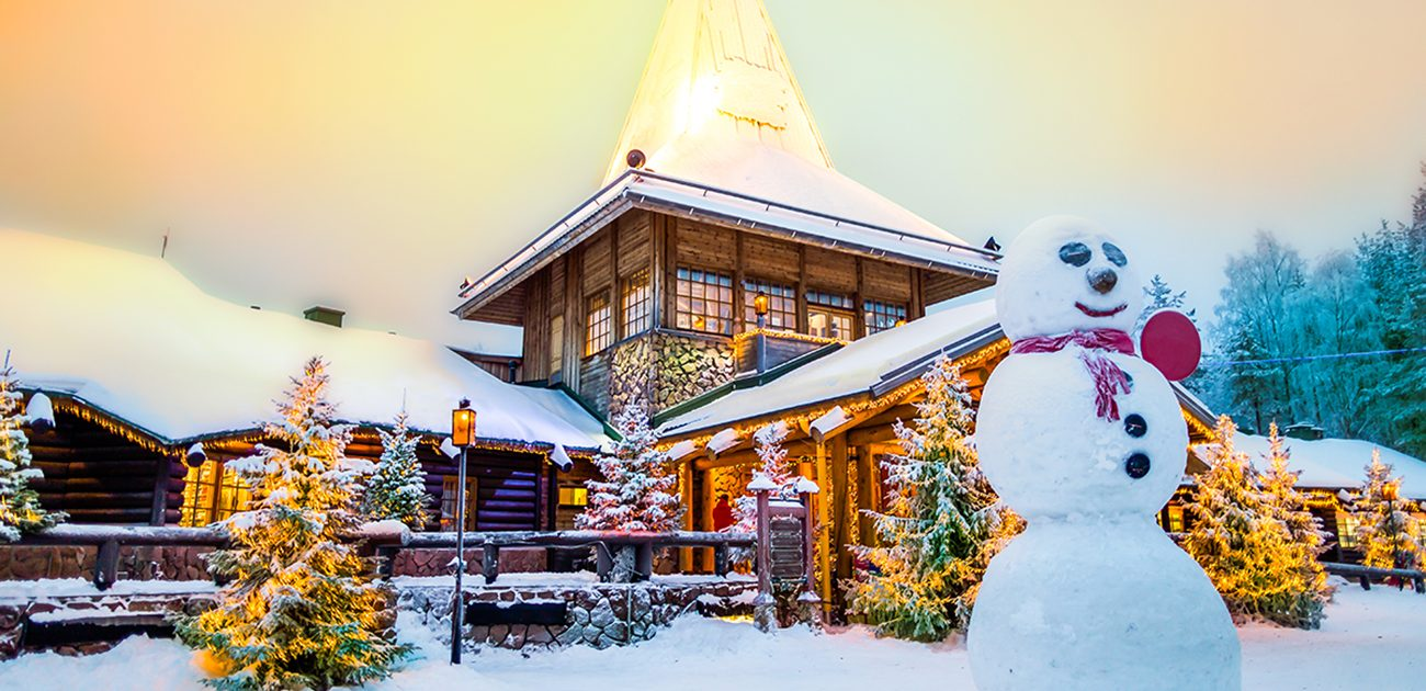 Experience True Christmas Magic at the Santa Claus Village in Finland