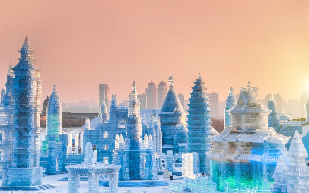 Harbin International Ice and Snow Festival—Harbin, China