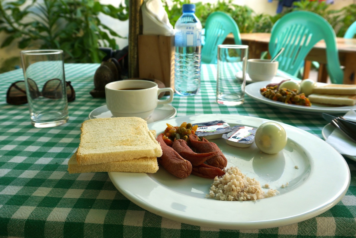 Mas Huni for breakfast in Maldives
