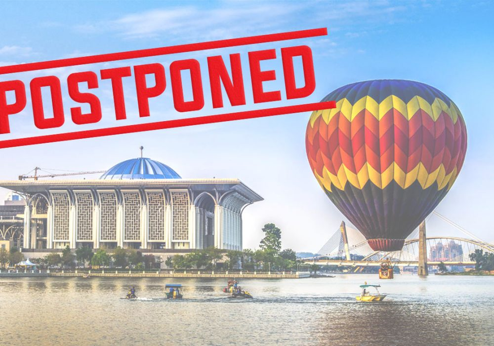Putrajaya International Hot Air Balloon Fiesta 2020 Postponed