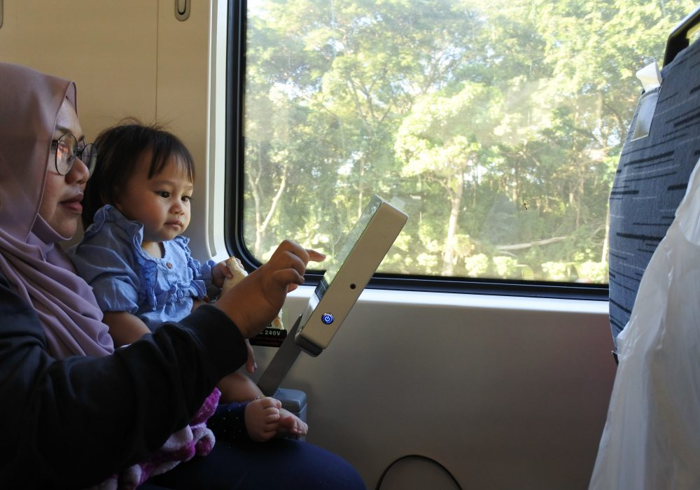 Riding on a Long Haul Train to Hua Hin from KL