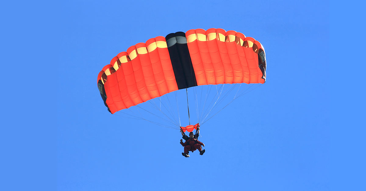 My First Ever Skydiving Experience