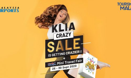 KLIA Crazy Sale & Cuti-Cuti Malaysia Mini Travel Fair: Shopping Is Better In The Airport!