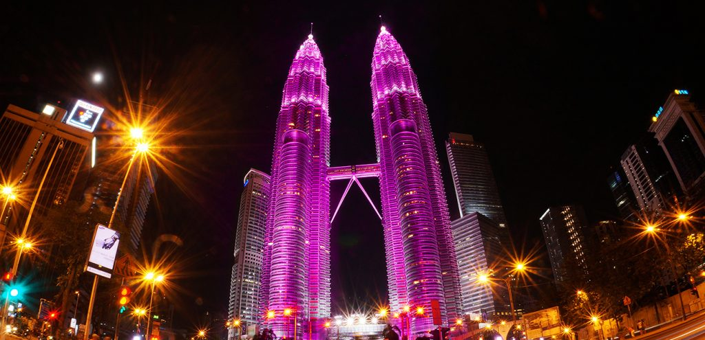 KLCC in pink in support of Breast Cancer Awareness Month