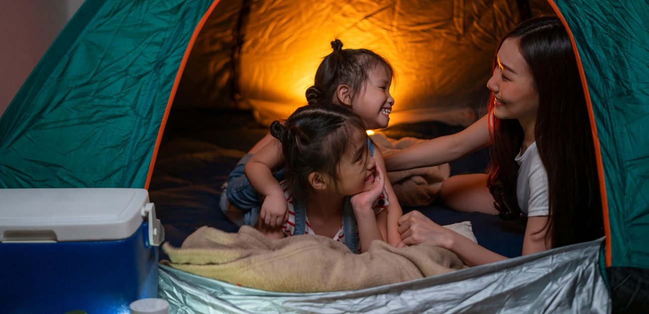 Family Camping at Home: Practice Makes Perfect
