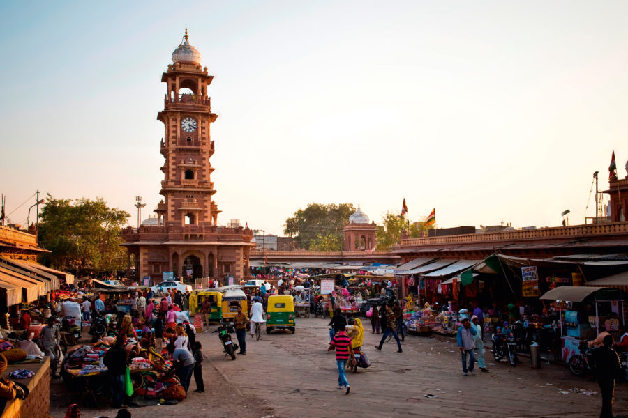 7. Jodhpur Clock Tower
