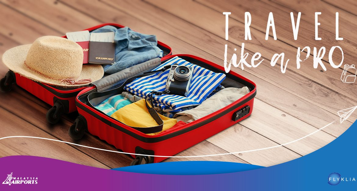 Become a Pro Traveller with these Light-Packing Tips