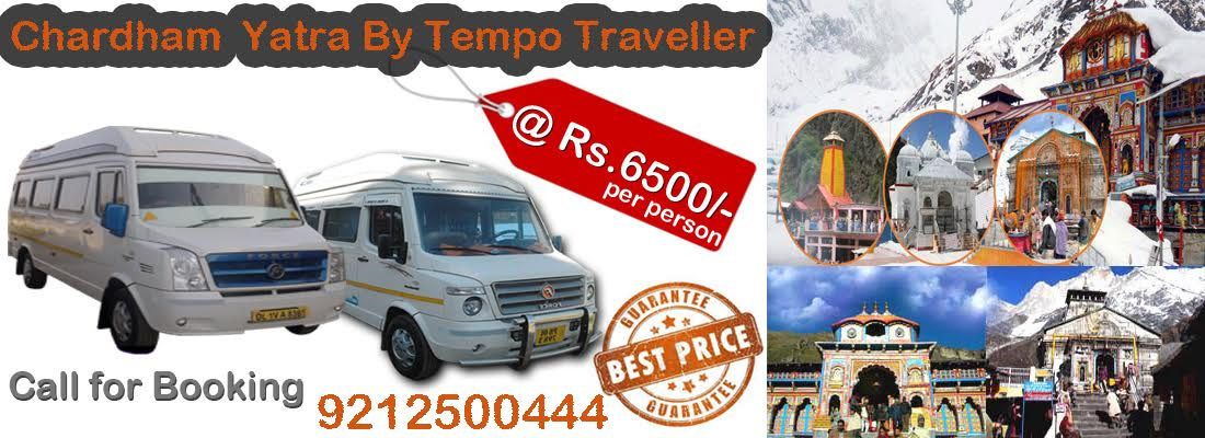 My Tempo Traveller Provides Chardham Yatra Tour Packages